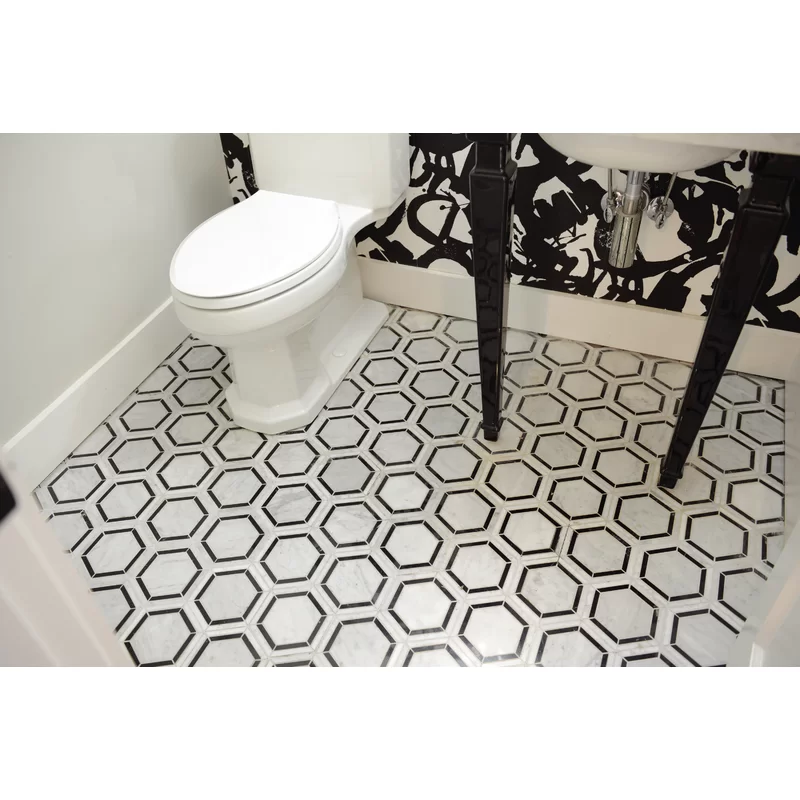 Harrison 6 X 6 Natural Stone Mosaic Tile With Images Stone
