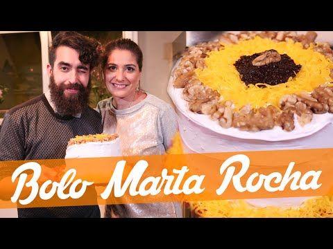 Bolo Marta Rocha Receita Bake Off Brasil Youtube Com