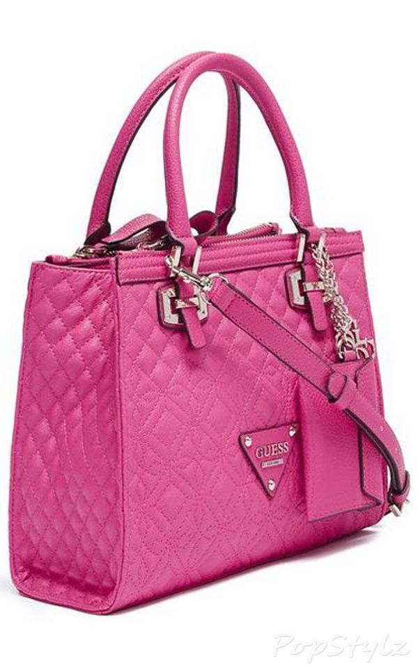 Guess Sunset Quilt Satchel Handbag | Clothes for Gals | Pinterest ...