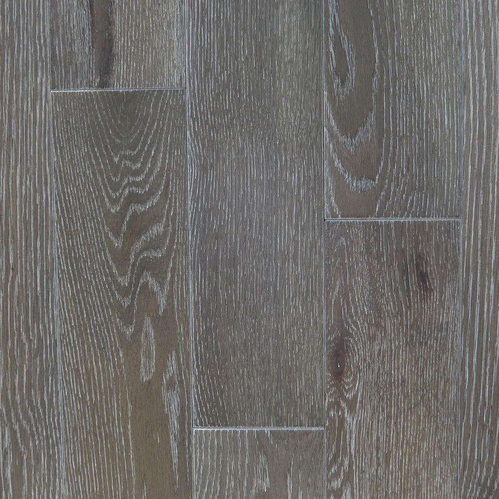 Blue Ridge Hardwood Flooring Oak Driftwood Wire Brushed 3 4 In Thick X 5 Wide Random Length Solid 20 Sq Ft Case
