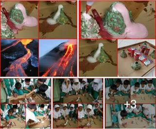 Perpustakaan Bunga Bangsa ƸӜƷ: Science Experiment - Volcanoe Explotion