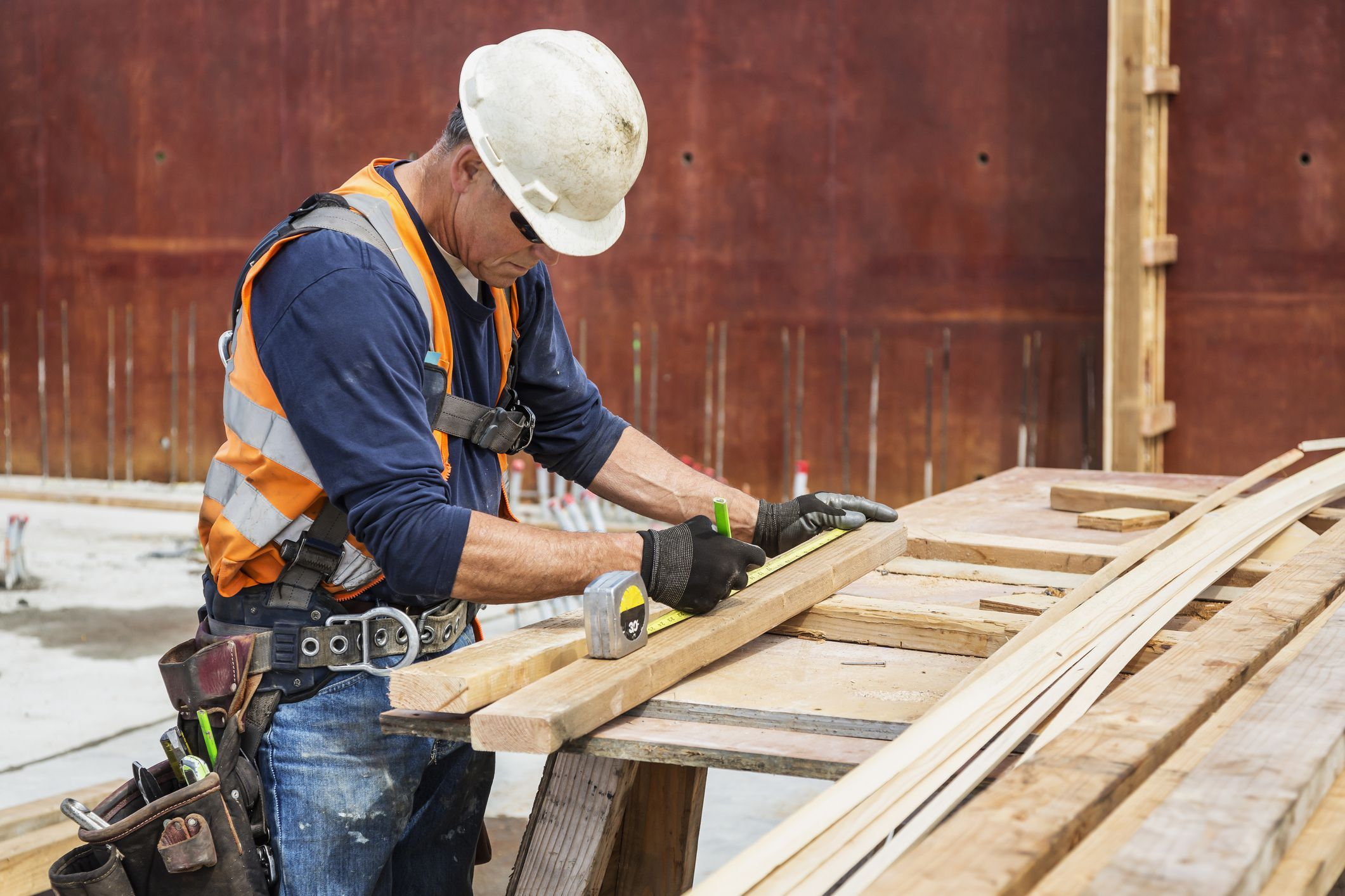 Use this list of construction skills to include your