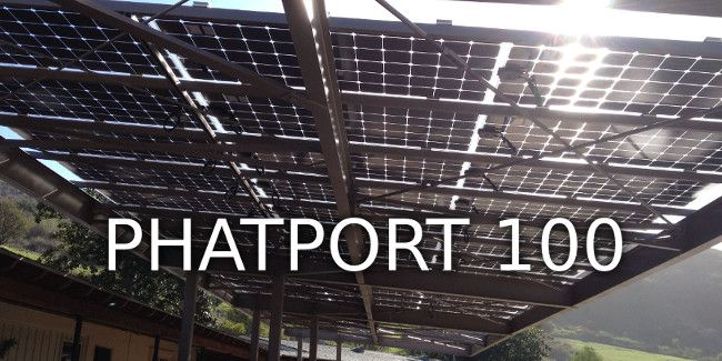 Phat Energy Phat Port Solar Solar Panels Porch Roof