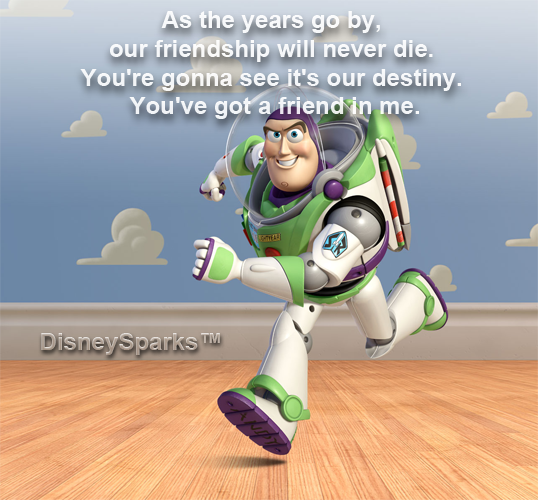 toy story friendship quotes
