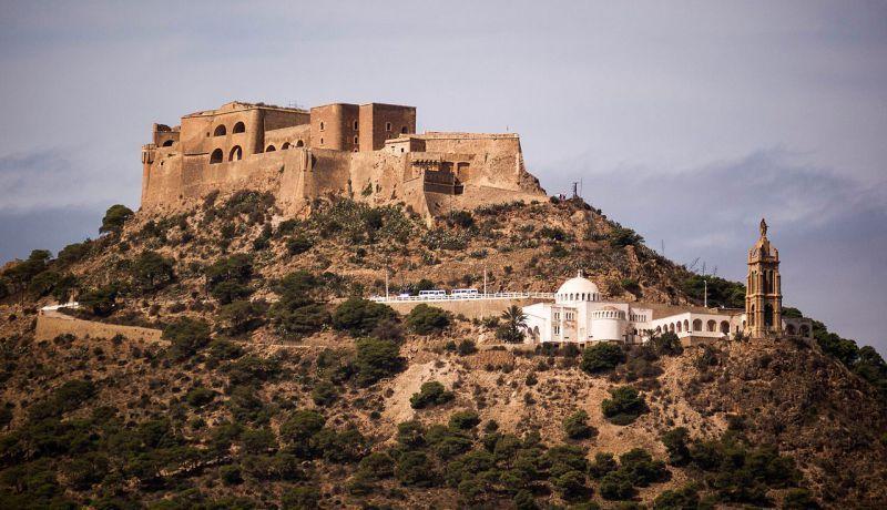 قلعة سانت كروز بمدينة وهران في الجزائر Algeria Travel Santa Cruz Algeria