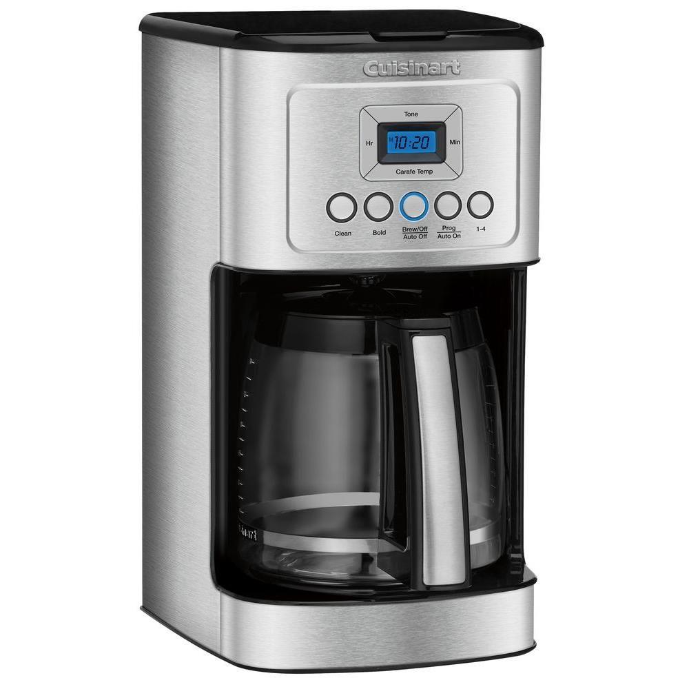 Cuisinart Perfectemp 14 Cup Stainless Steel Drip Coffee Maker Dcc 3200 Best Coffee Maker Coffee Maker Machine Coffee Maker Reviews