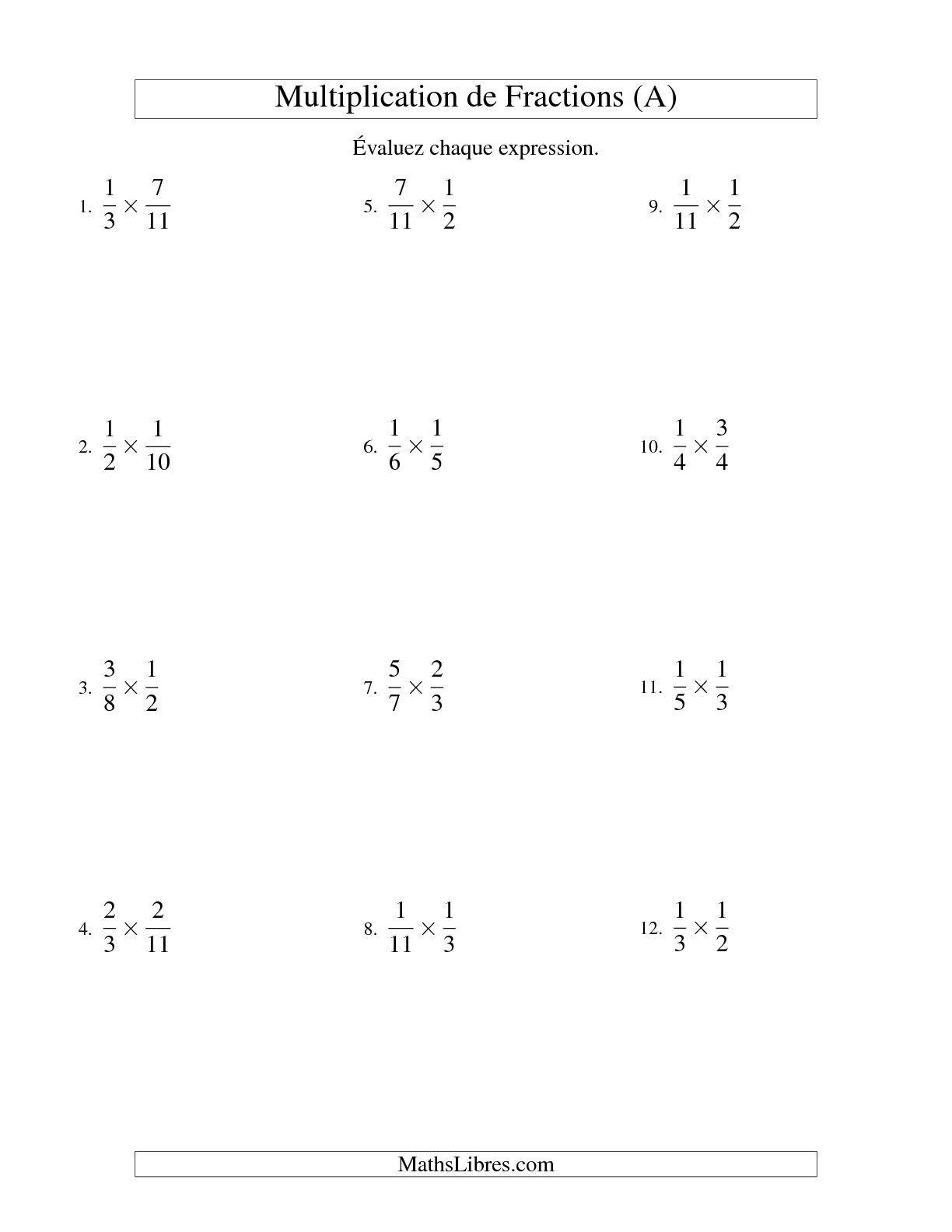 Epingle Sur Multiplication