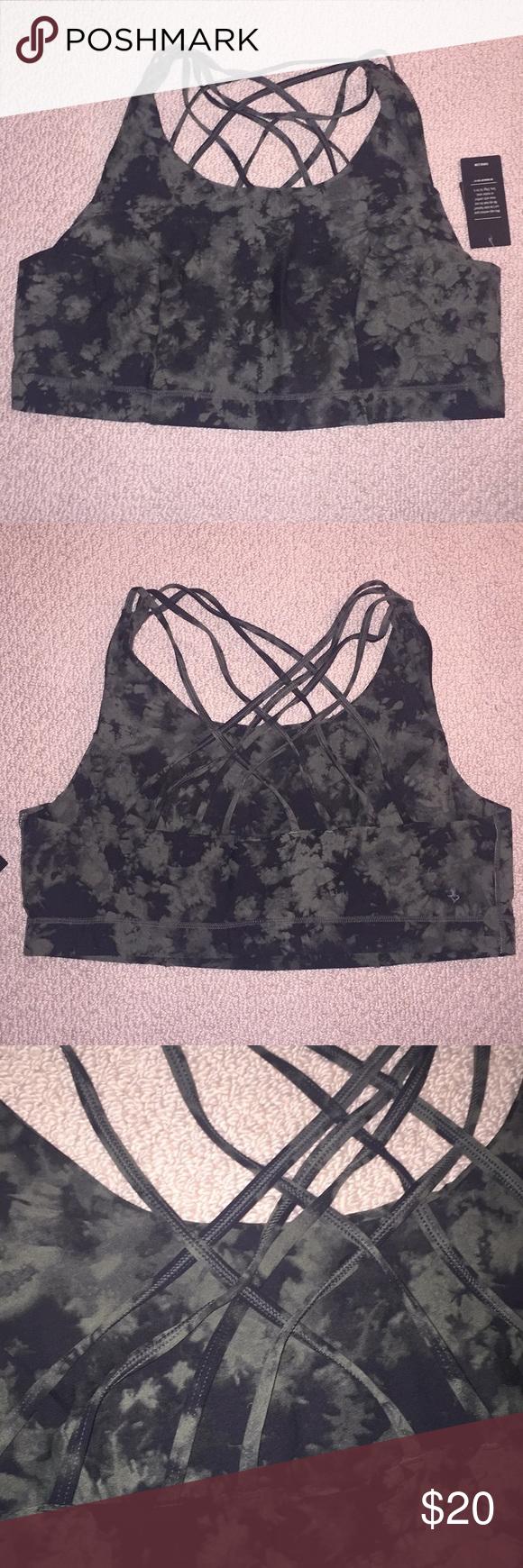 6dc6fb73b8 Tie-dye sports bra - active wear Plus size sports bra in Torrid size ...