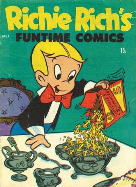 Richie Rich's Funtime Comics