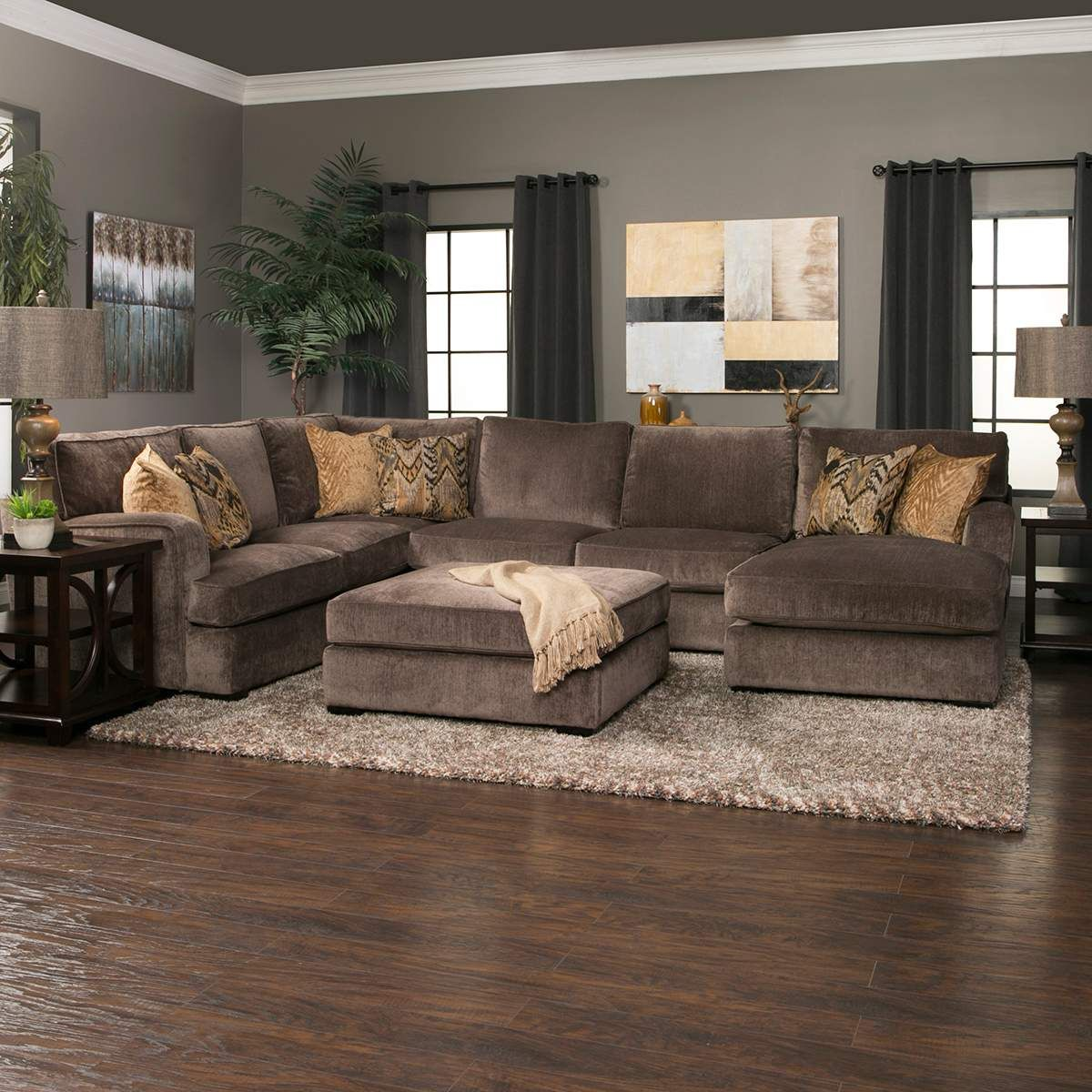 Best When It S Time To Unwind The Teddy 3 Piece Sectional Will 400 x 300