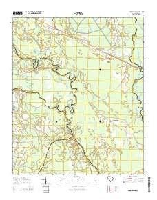 Snow Island Sc Topo Map 1 24000 Scale 7 5 X 7 5 Minute Current