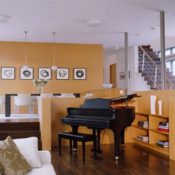 Create Openness With Partial Walls Living Room Divider Design Best Living Room Divider Design Decorating Inspiration