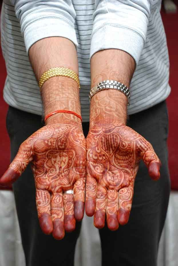 marriage mehendi designs for boys