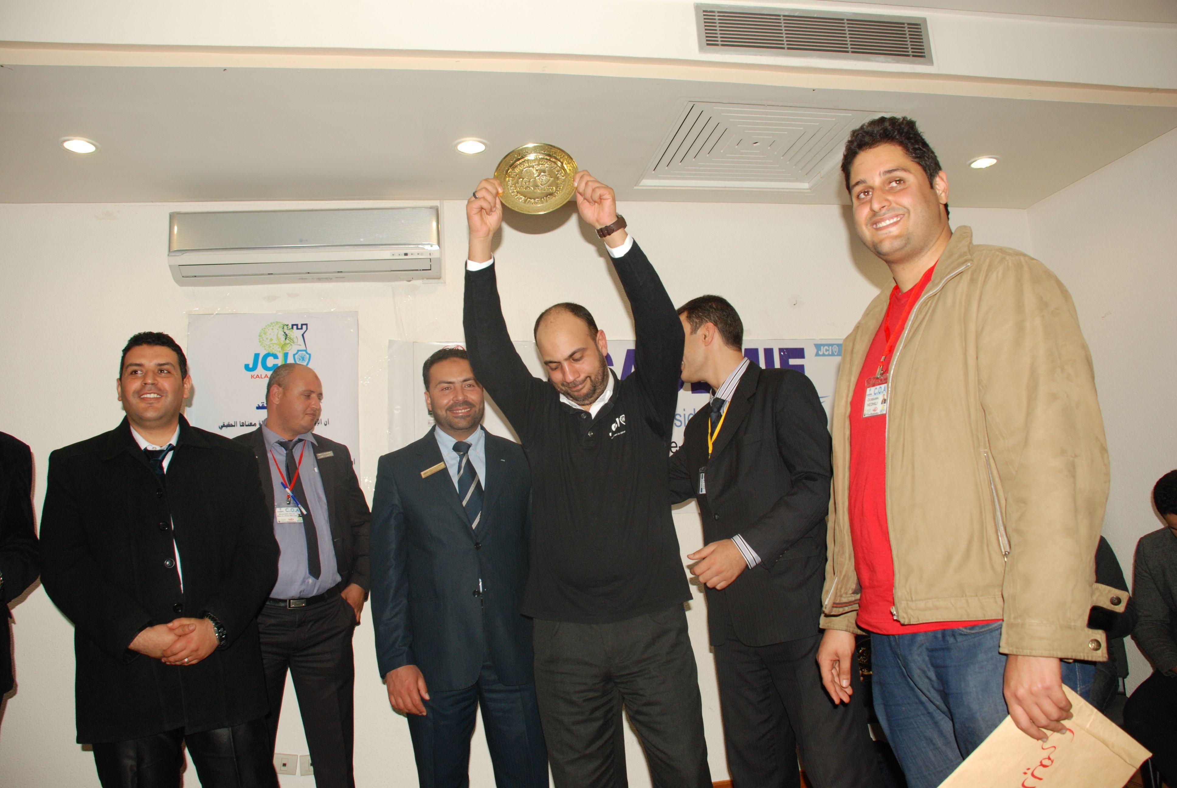 Head Coach de l'academie des VPs Coach Aymen Ben Othman   on te félicite .. et merci