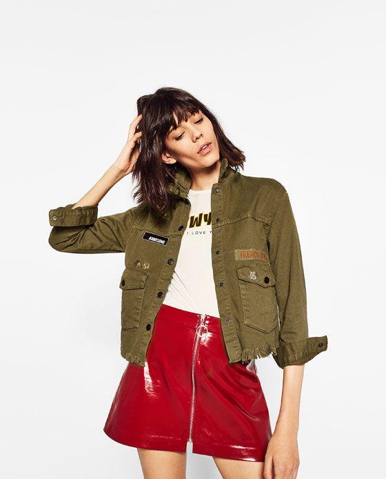 e2700805c FALDA MINI CHAROL en 2019 | moda | Faldas rojas, Faldas y Ropa