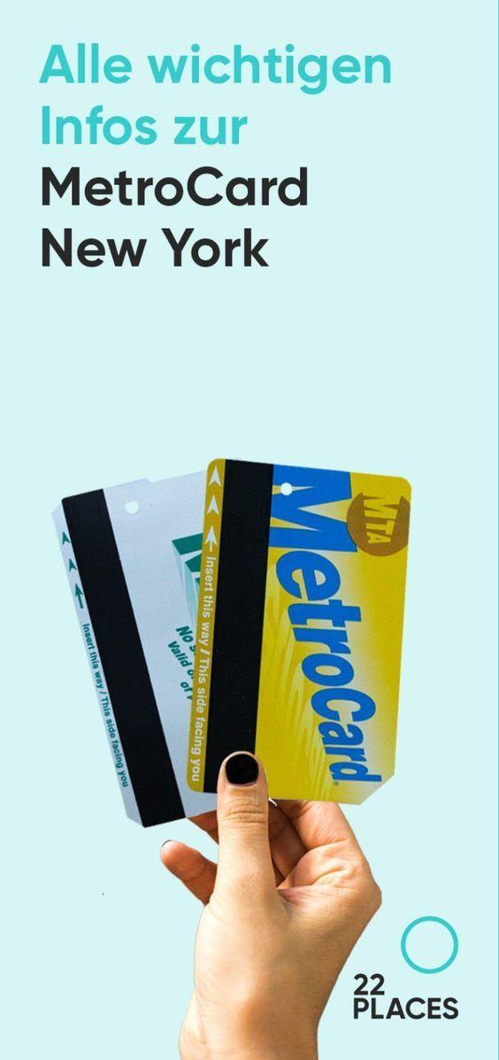 MetroCard New York kaufen: So funktioniert U-Bahnfahren!