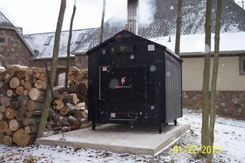 Stay Warm This Winter With A Heatmaster Outdoor Wood