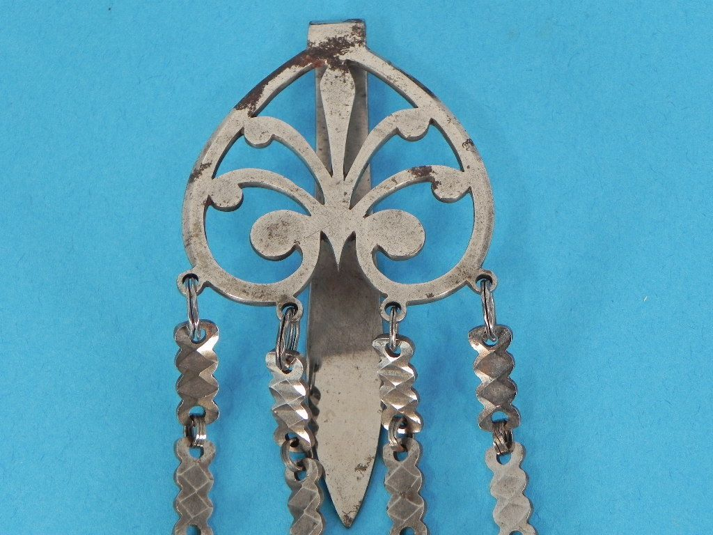 French Cut Steel Chatelaine from nwcollectibles on Ruby Lane