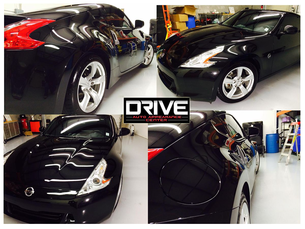 DRIVE Auto Appearance Center This is what a black Nissan