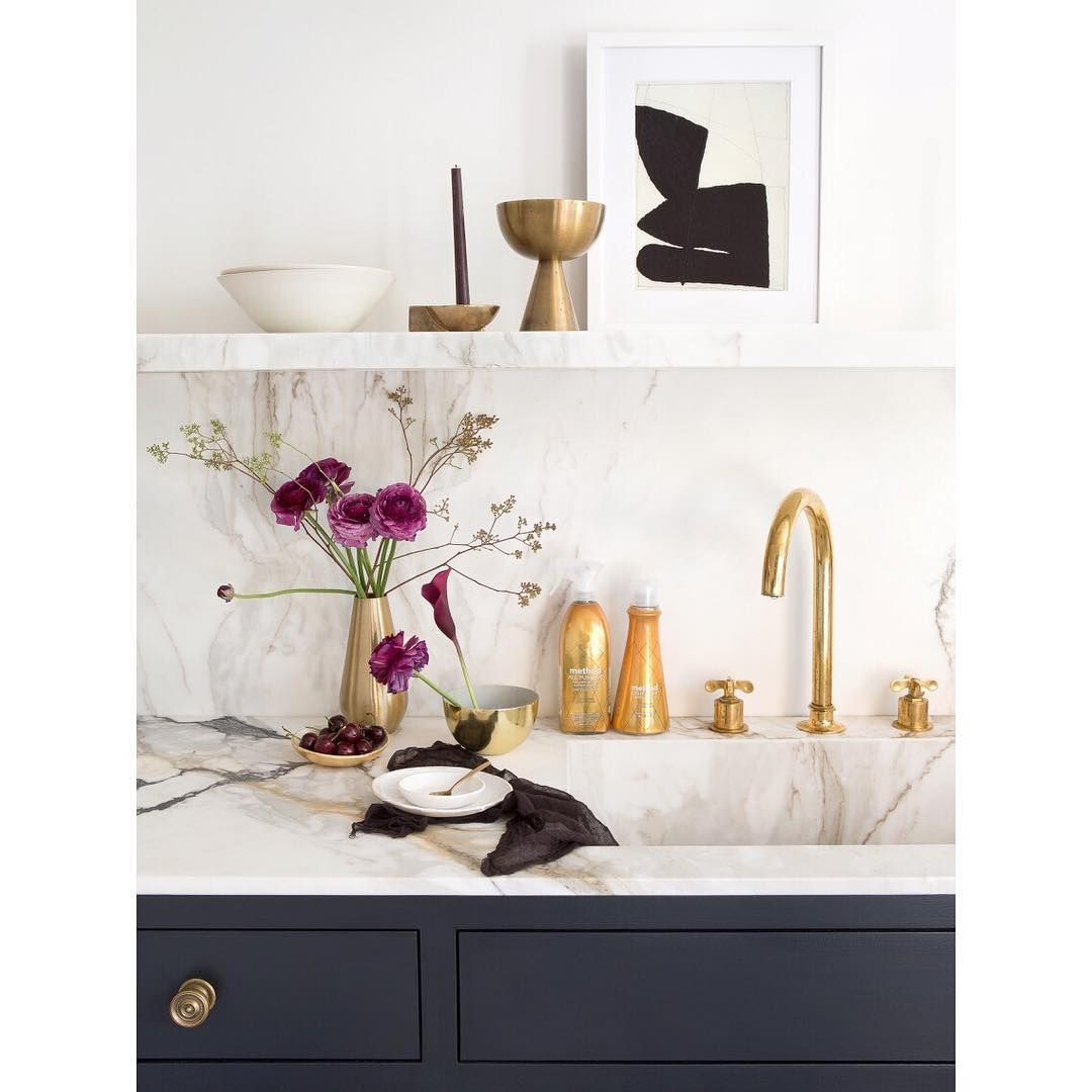 It is my belief that the use of metallic finishes in the home cause ...