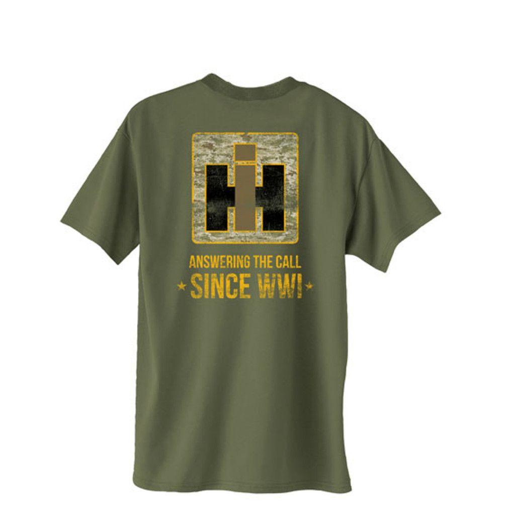 International Harvester Clothing : International truck military t shirt ihgear since