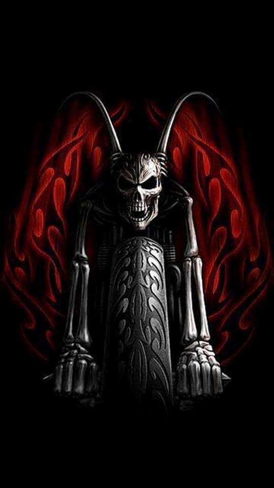 Lovell Canyon   Grim Reaper & Skulls   Skull, Skull art ...