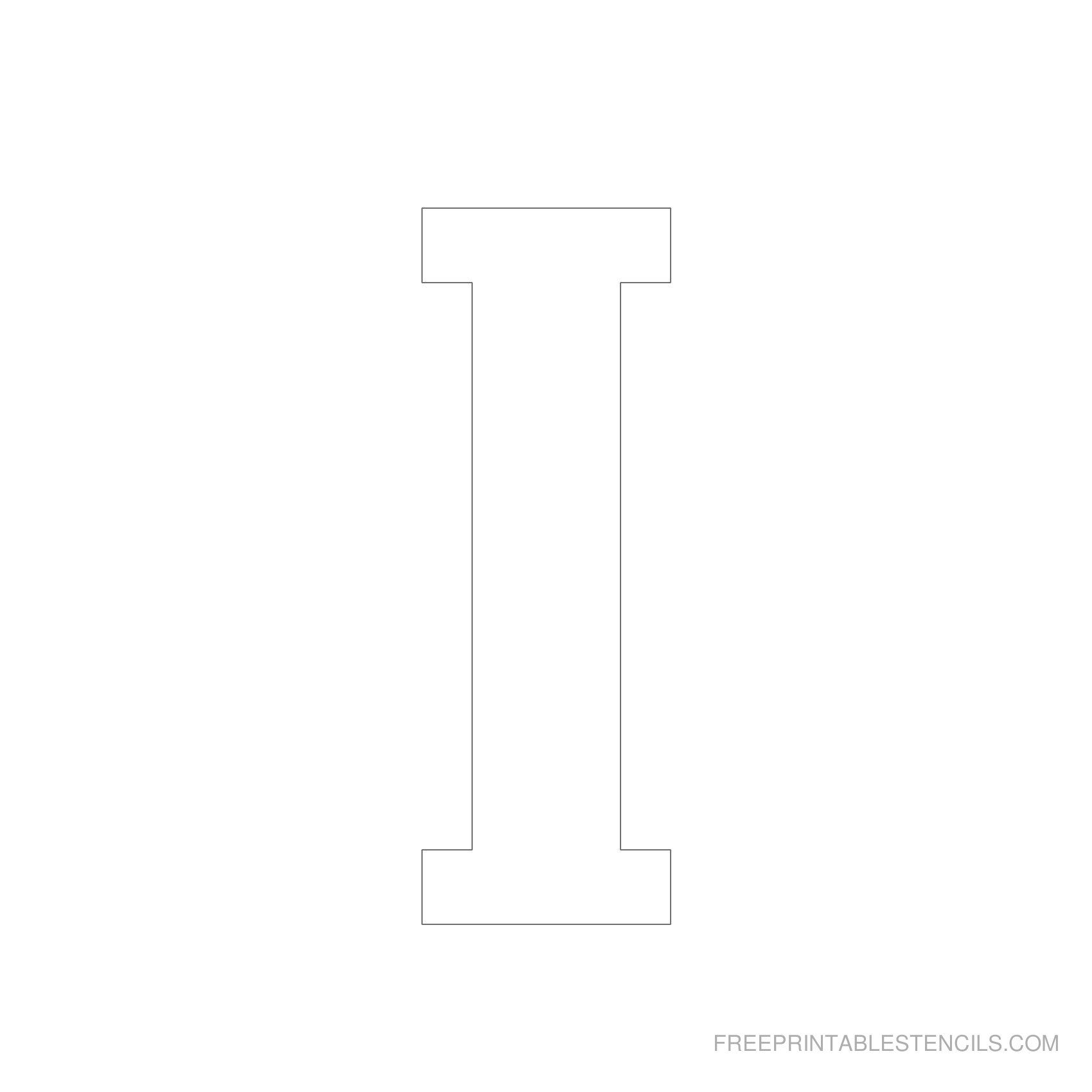 It is a graphic of Free Printable Letter Stencils intended for elegant