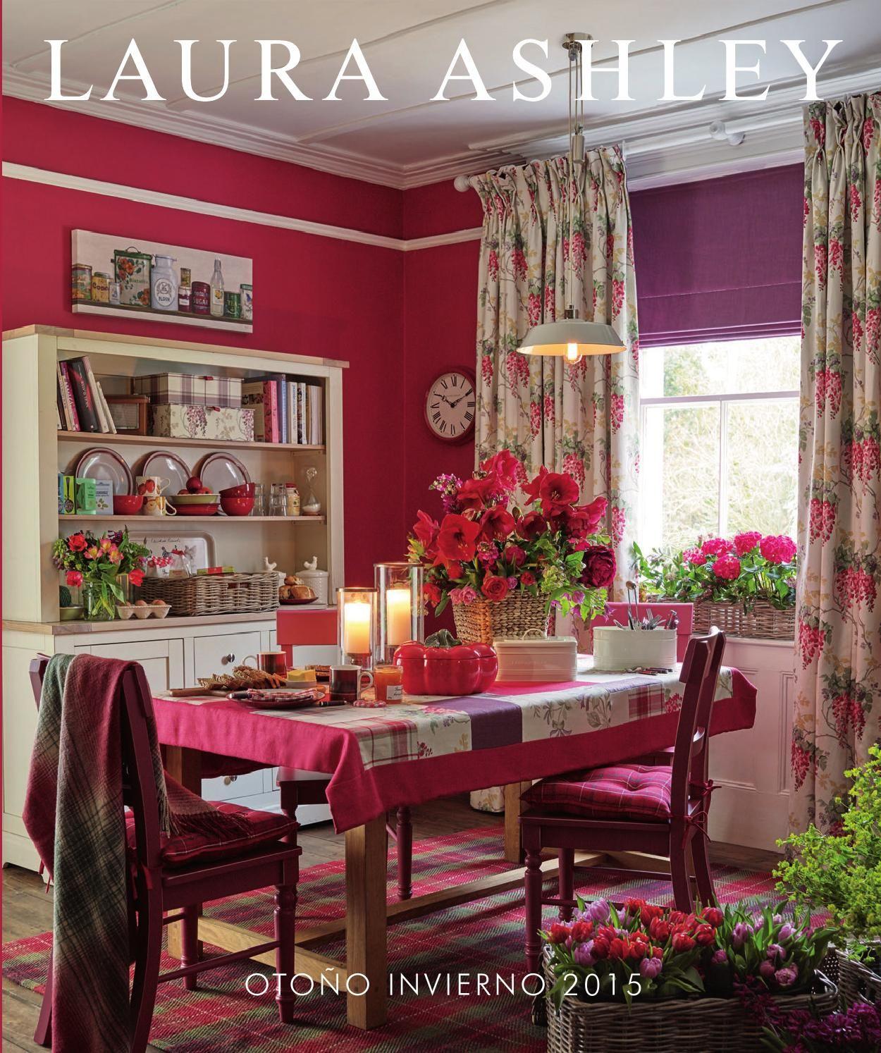 Laura ashley decoraci n hogar oto o invierno 2015 - Laura ashley papel pintado ...
