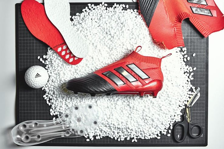The black and red Adidas Ace 17 PureControl boots introduce a