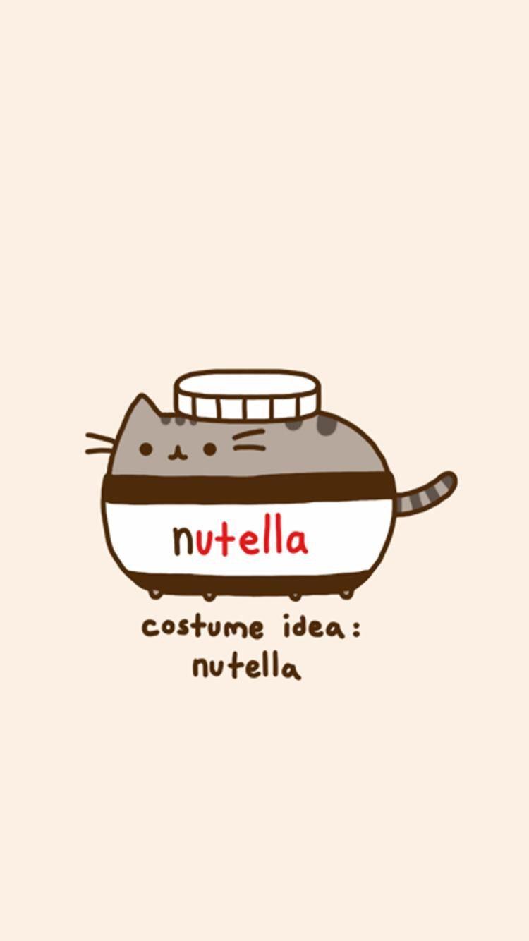 Pin By Dimidom On Nutella Pusheen Cute Pusheen Cat Kawaii Wallpaper