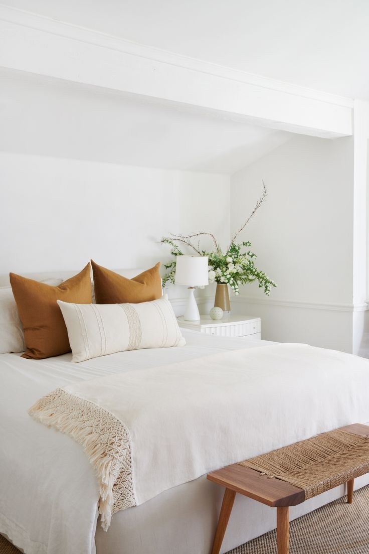 Minimal Modern Bedroom #bedroomideas #minimal #homedecor