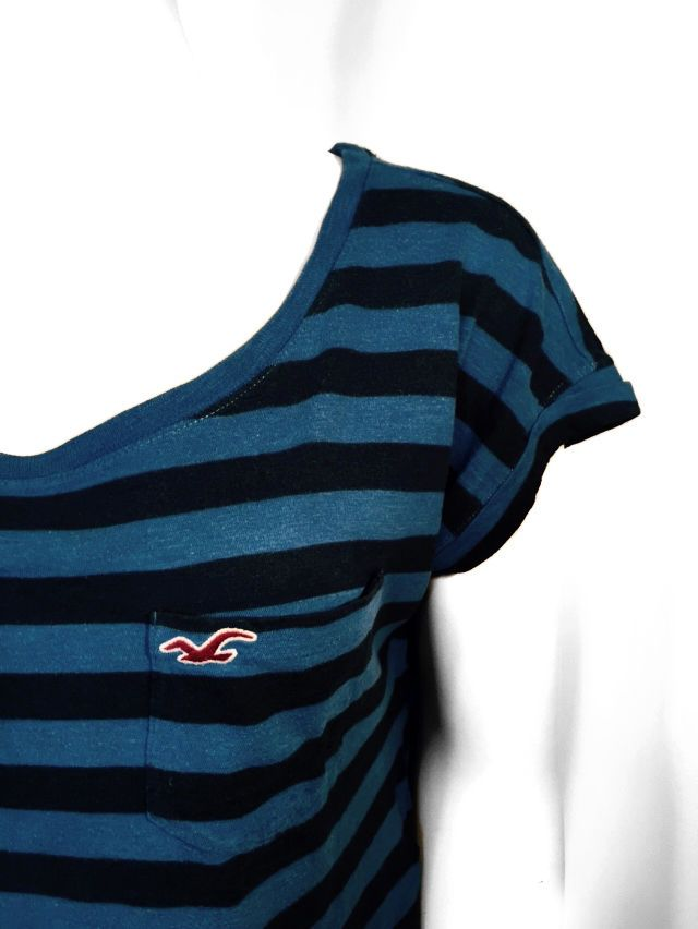 Hollister Women Striped Top - Size Medium #Hollister #Blouse #Casual
