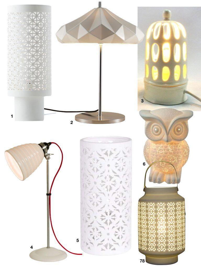 Où trouver une lampe sur pied en porcelaine ? | Lamp
