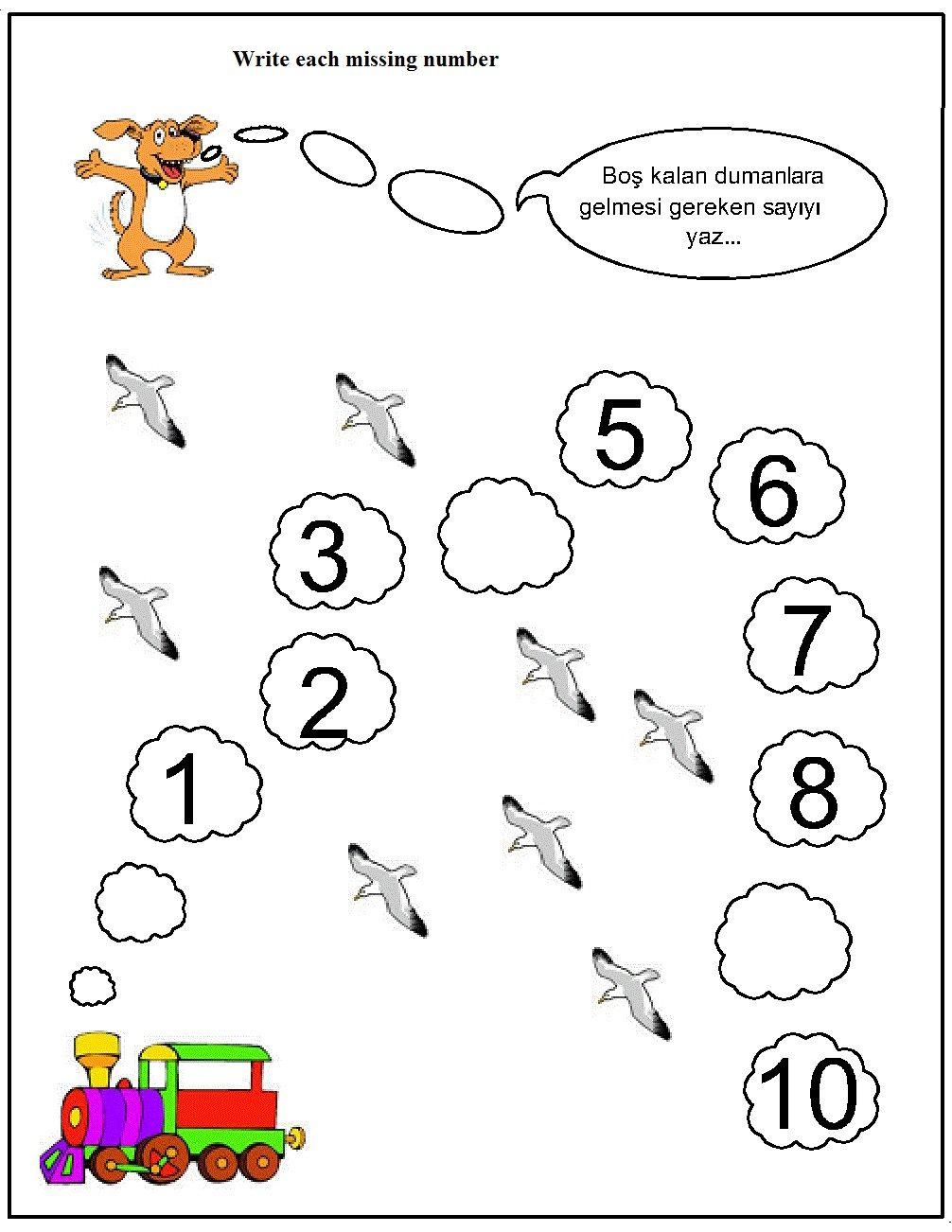 Missing Number Worksheet For Kids 1 10 Crafts And Worksheets For Preschool Toddle Missing Number Worksheets Number Worksheets Kindergarten Number Worksheets [ 1302 x 1006 Pixel ]