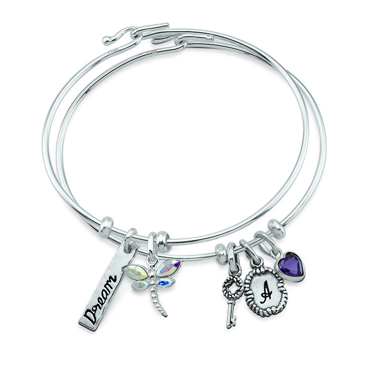 PersonaPhi\'s sterling silver thin wire bangle is flexible, and easy ...