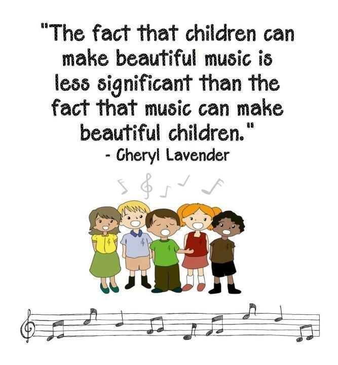The Fact That Children Can Make Beautiful Music Is Less Significant Than The Fact That Music Music Education Quotes Music Education Elementary Music Classroom