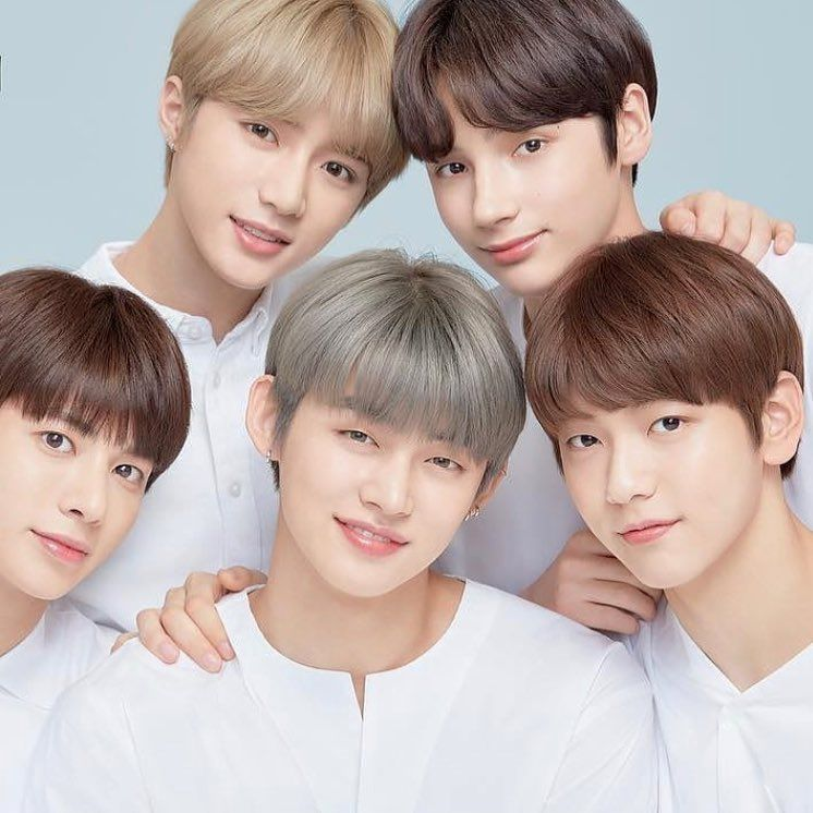 Image May Contain 4 People Selfie Txt K Pop Star Skin Care Secrets