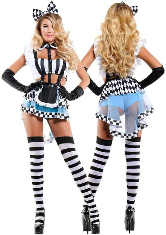 8d8b90a17 Sexy Alice in Wonderland costume More