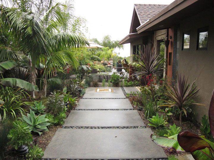 Balinese garden encinitas garden festival tour for Bali landscape design