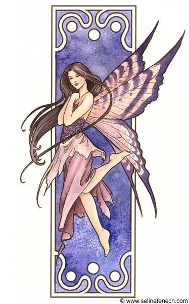 Nouveau Fairy 1 by SelinaFenech.deviantart.com on @deviantART