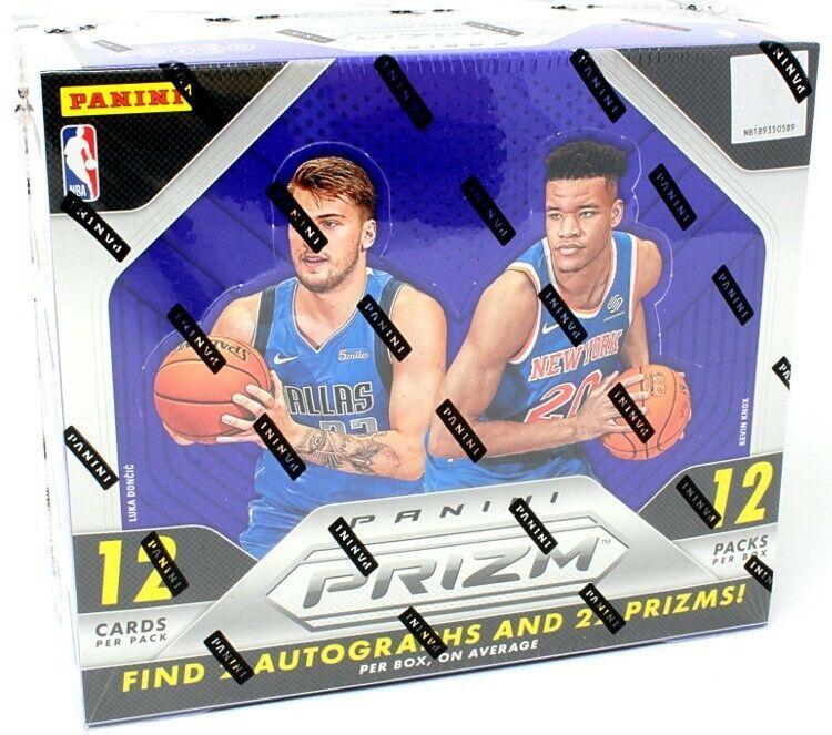 201819 panini prizm basketball hobby 12 box case blowout