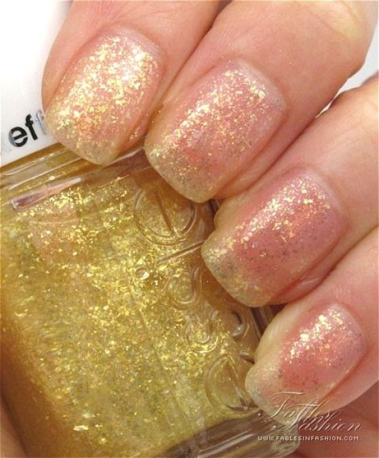Essie (Luxeffect Collection): As Gold As It Gets great topcoat color