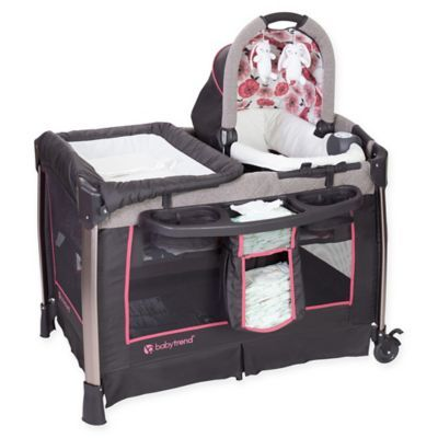 The Baby Trend Go Lite Nursery Center Playard is the