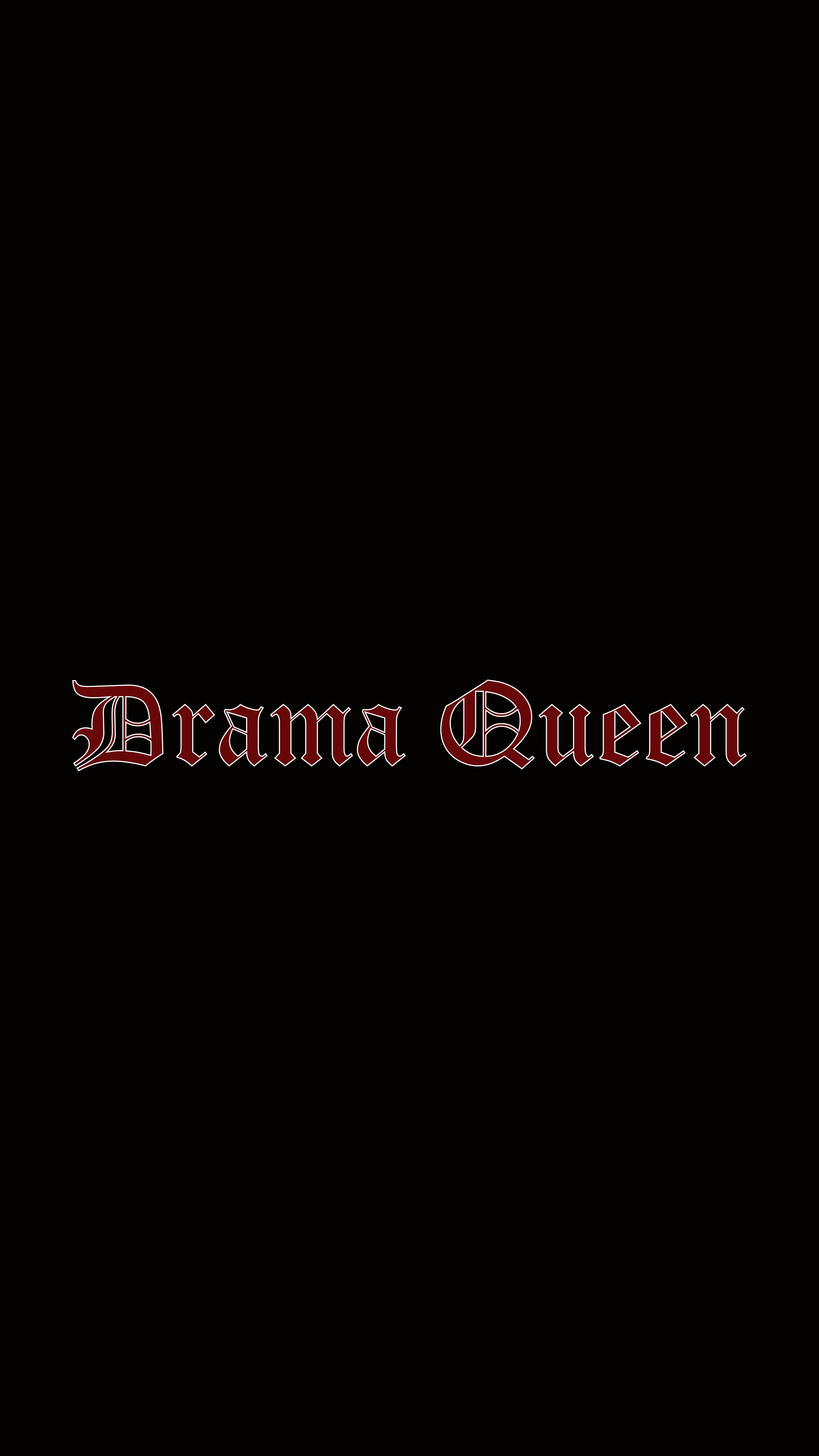 Drama Queen Wallpaper By Flor De Puta My Wallpapers