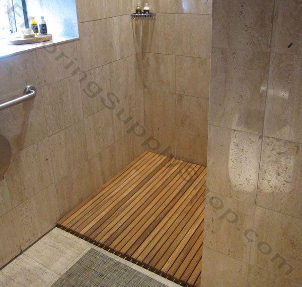 Teak Wood Mat Custom Order Teak Shower Mats Teak Shower Mat