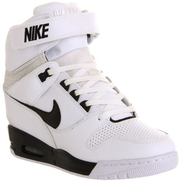 detailed look 99222 4d356 ... Nike Air Revolution Sky Hi (8,785 INR) ❤ liked on Polyvore featuring  shoes, ...