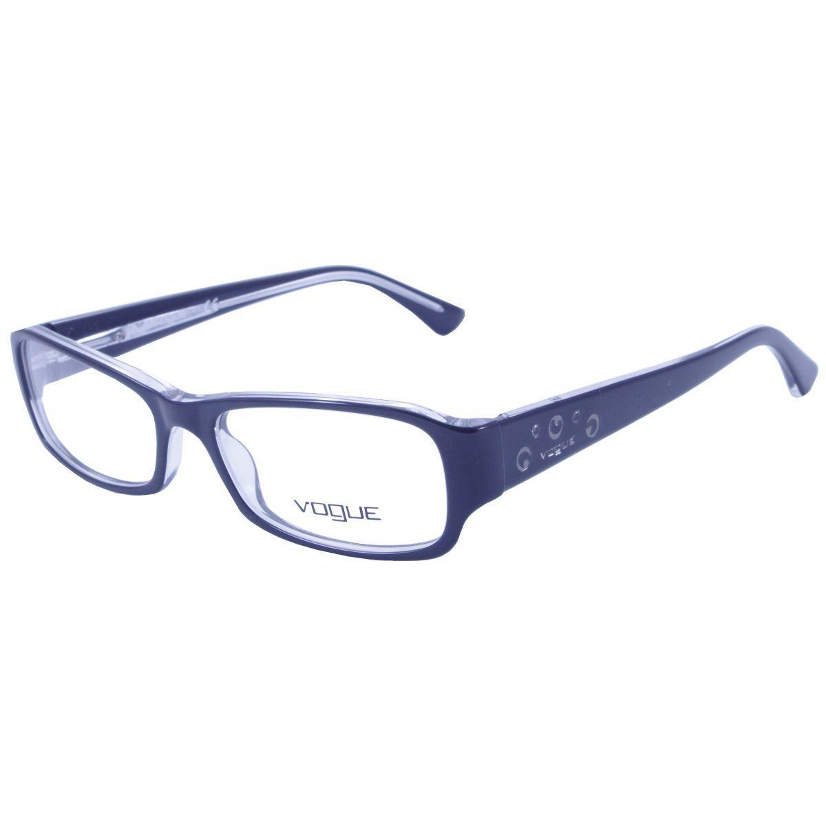 Oculos De Grau Feminino Vogue Vo2758 827 Tam 52 Oculos De Grau