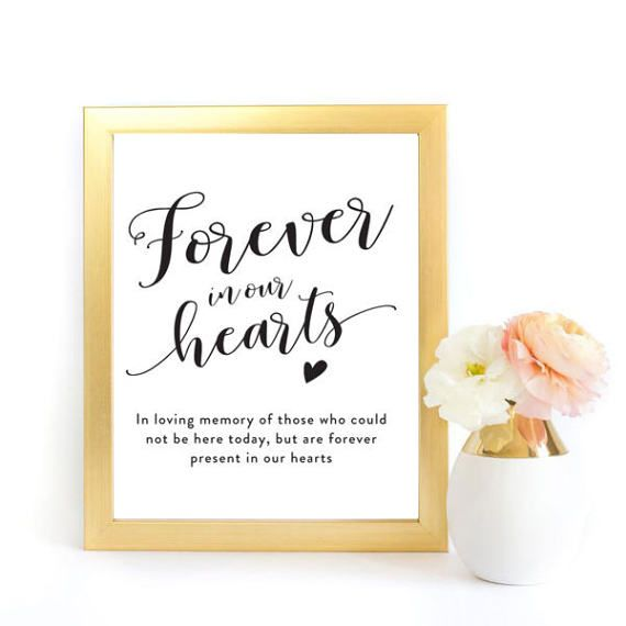 picture relating to In Loving Memory Free Printable known as In just Memory Indication, Inside of Loving Memory Indicator, Eternally in just Our Hearts