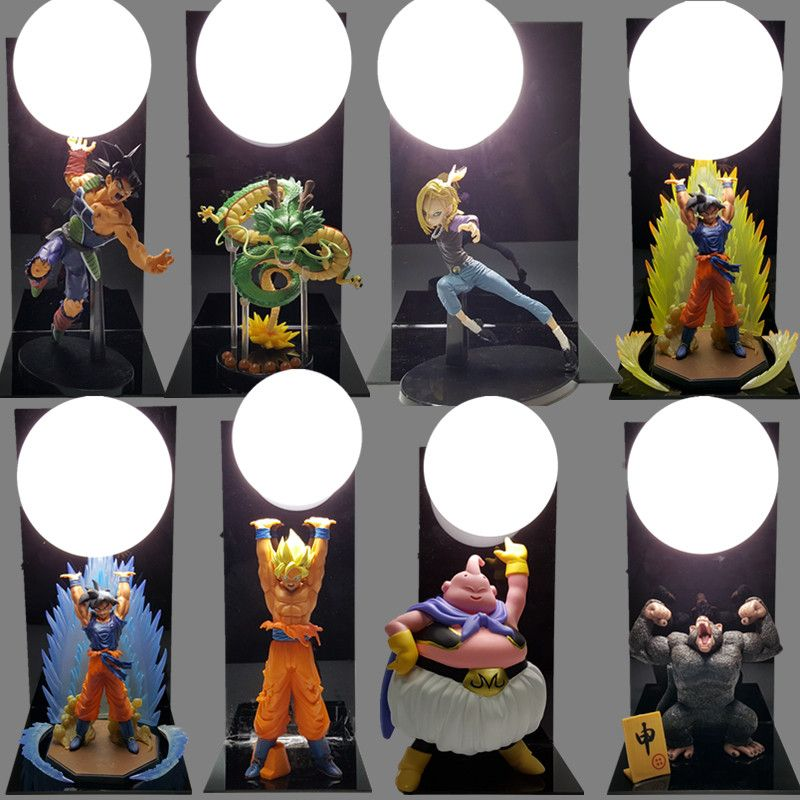 Spirit Bombs Luminaria Led Lamp Ball Son Table Promo Dragon Goku BedCxo