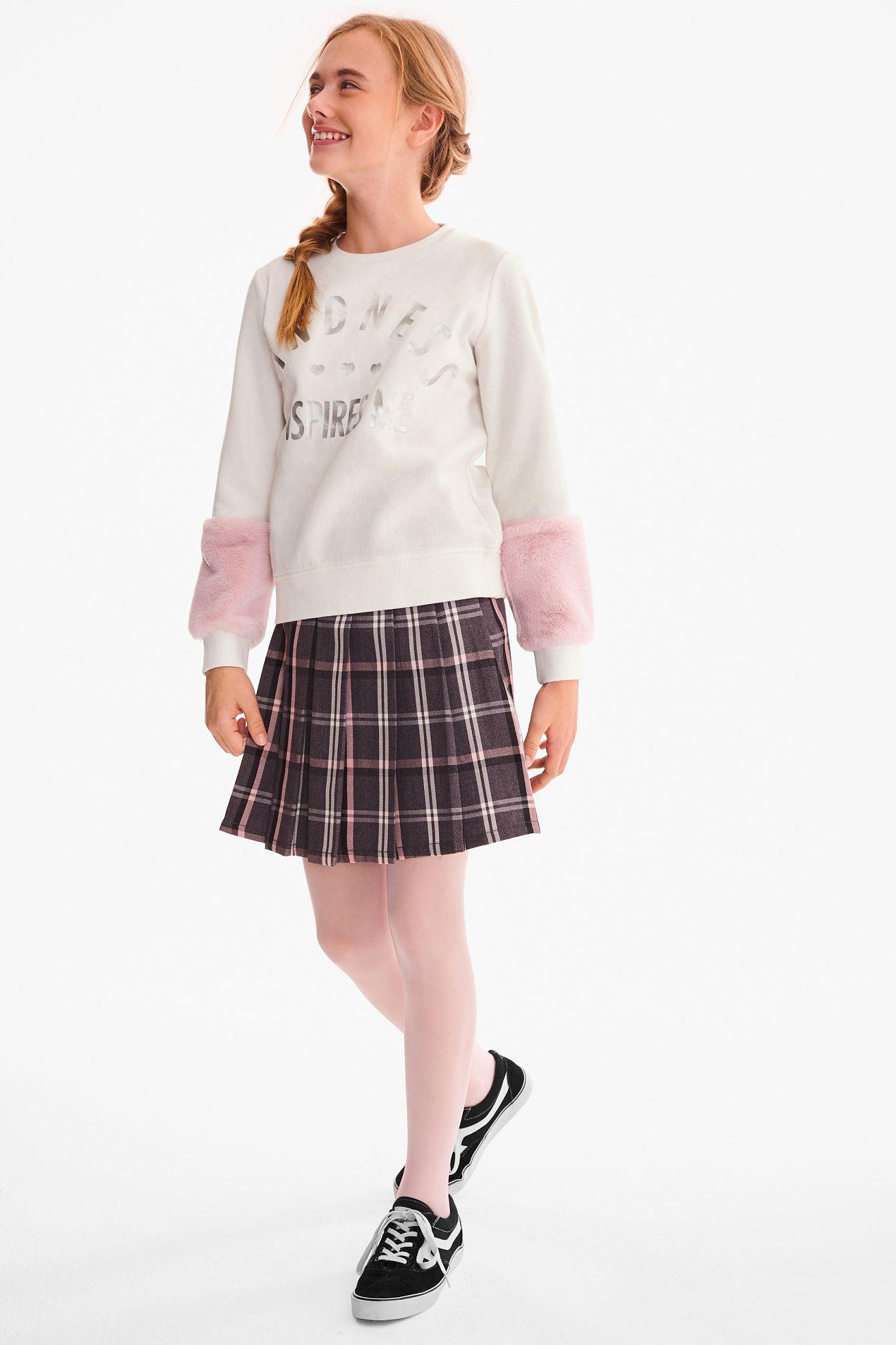 Sweatshirt Kleid Fur Jugendliche Susse Outfits Fur Madchen Madchenmode